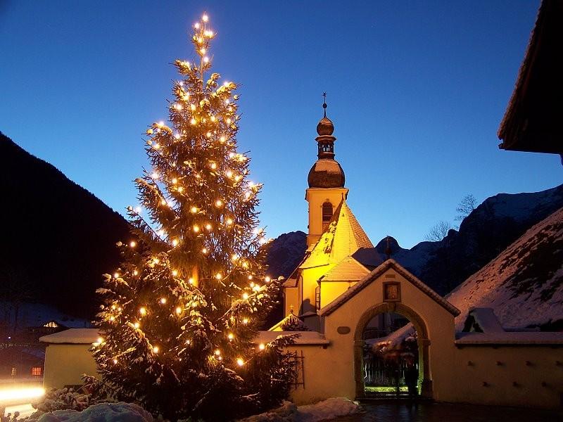 Weihnachten Kirche.Die Pfarrkirche St Sebastian In Unserer Katholischen Pfarrei St